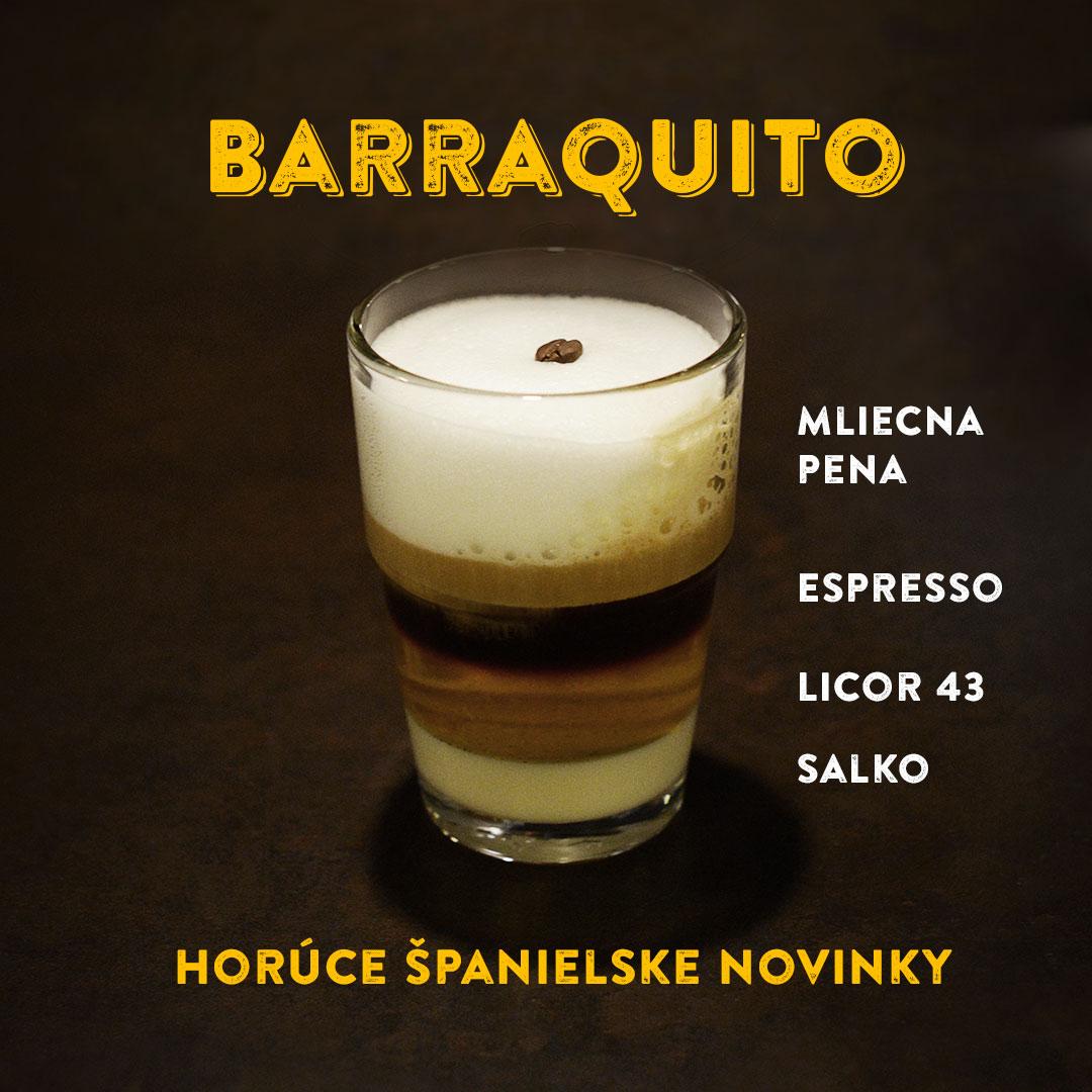 Barraquito oucafé
