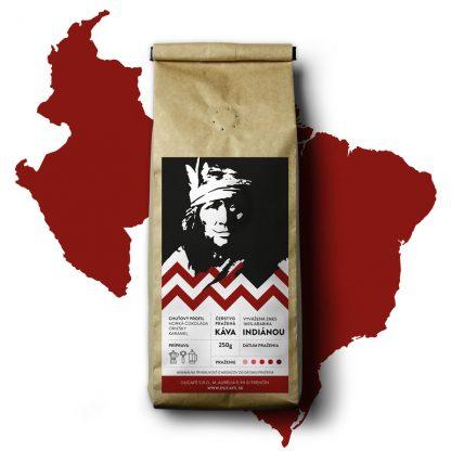 káva indiánou